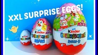 Unboxing en review: XL en XXL Surprise Eggs/verrassingseieren