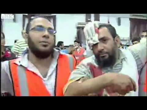 BBC News   Egypt crisis  Deadly clashes at pro Morsi Cairo protest