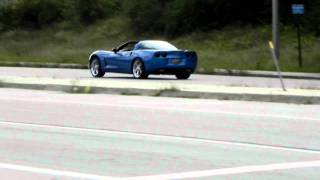 Crazy C6 Vette Acceleration with wheel spin!