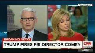 Trump Fires Comey FBI director learned he was fired on TV He was talking to Agents in Los Angeles
