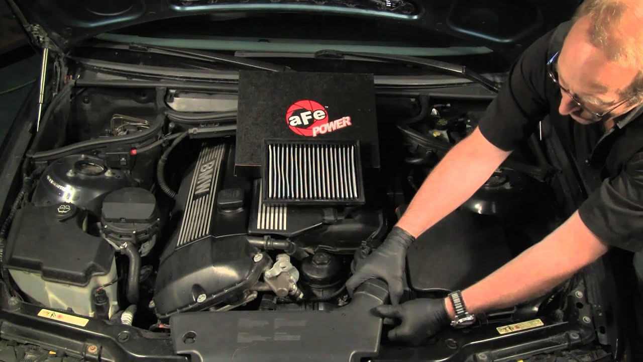 Bmw E39 520i Wiring Diagram Replacing The Engine Air Filter In A Bmw Or Mini Youtube