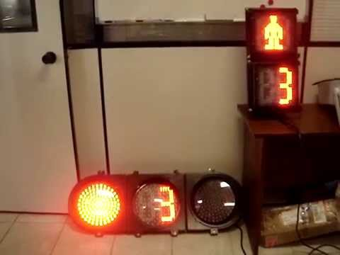 Traffic Lights Countdown Timer Youtube