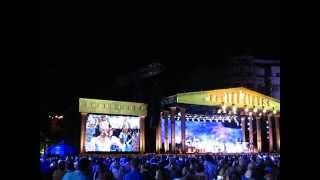 Concert Andre Rieu, vineri 5 iunie 2015 (5.06.2015), Bucuresti, Piata Constitutiei 30