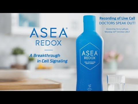 Doctors Speak Out On New ASEA Redox Genetic Science