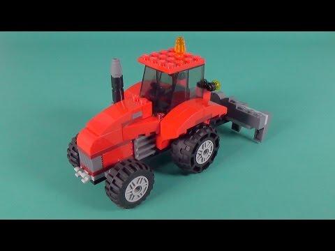 Lego Farm Tractor Building Instructions - Lego Classic 10697