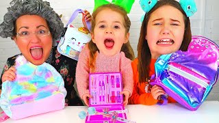 Download Ruby & Bonnie Play the School Supplies Switch Up Challenge Mp3 and Videos