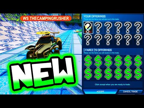 NEW TRADING TACTIC = 100% PROFIT!! ( Rocket League Crate Trades )
