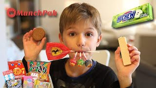 Snacks from Around the World - Japanese candy etc