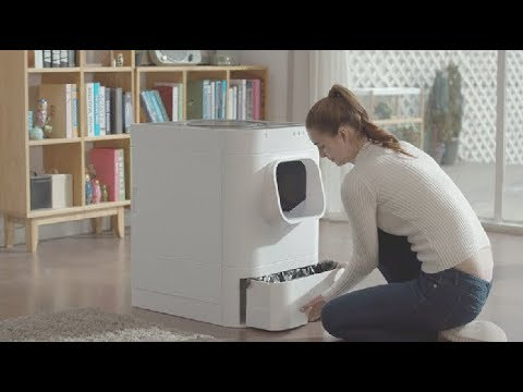Lavviebot S - Automatic Self Cleaning Cat Litter Box