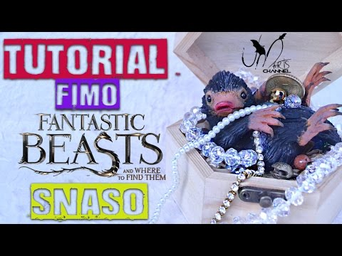 Tutorial Snaso in Fimo - Animali Fantastici e Dove ...