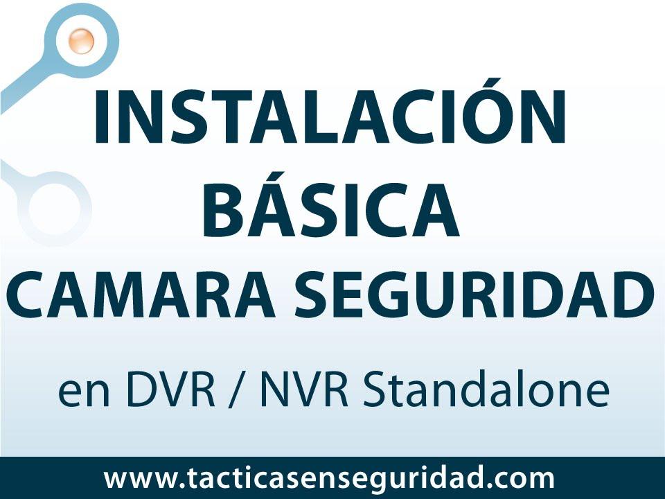 Instalación Basica Camara de seguridad AHD CCTV ONVISION COLOMBIA