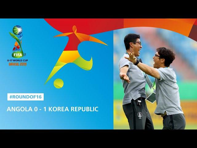 Angola v Korea Republic Highlights - FIFA U17 World Cup 2019 ™