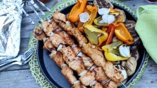 Худеем с Мариной Евтешиной. 3 вида шашлыков или вкуснейшие рецепты на углях.