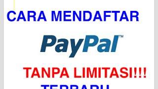 Cara Mendaftar Paypal + VCC Terbaru TANPA LIMITASI!!
