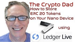 Using Ledger Live to Send ERC20 (BAT) Tokens to Your Ledger Nano Device