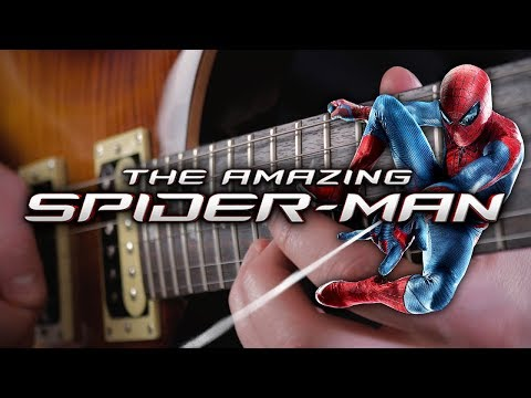 The Amazing Spider-Man Theme On Guitar