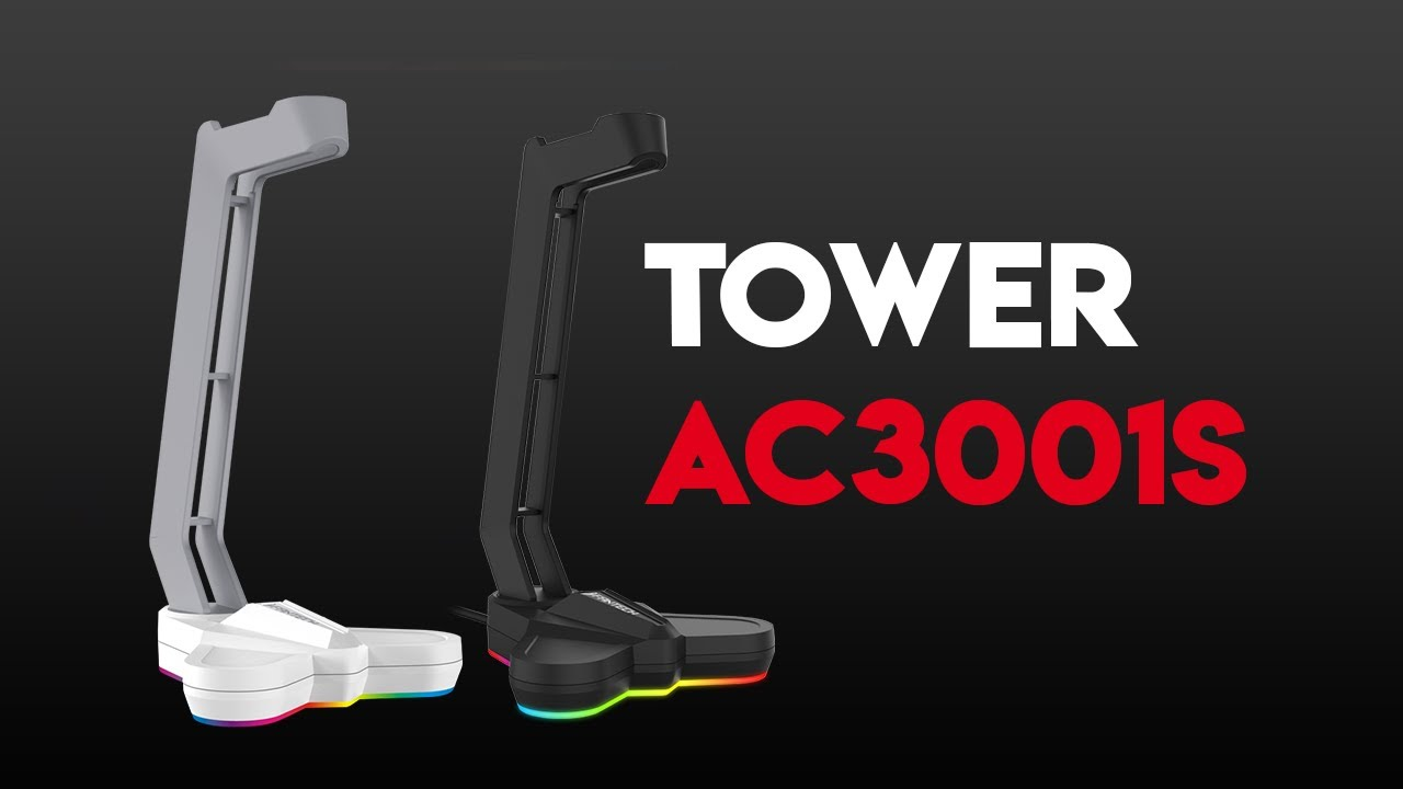 TOWER AC3001S RGB Headset Stand