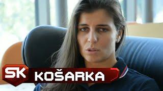 Ana Dabović, Sonja Petrović, Jelena Brooks Nakon Pobede nad Belgijom   SPORT KLUB Košarka