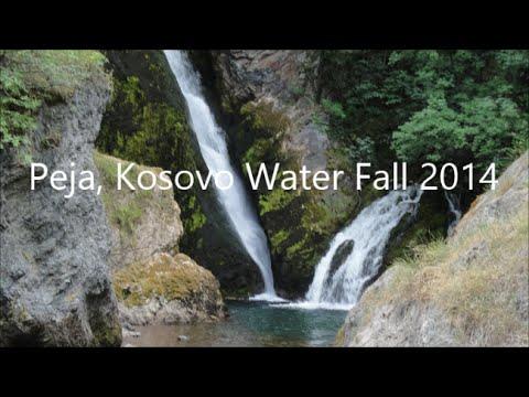 Peja, Kosovo White Drin Waterfall 2014   Kosova