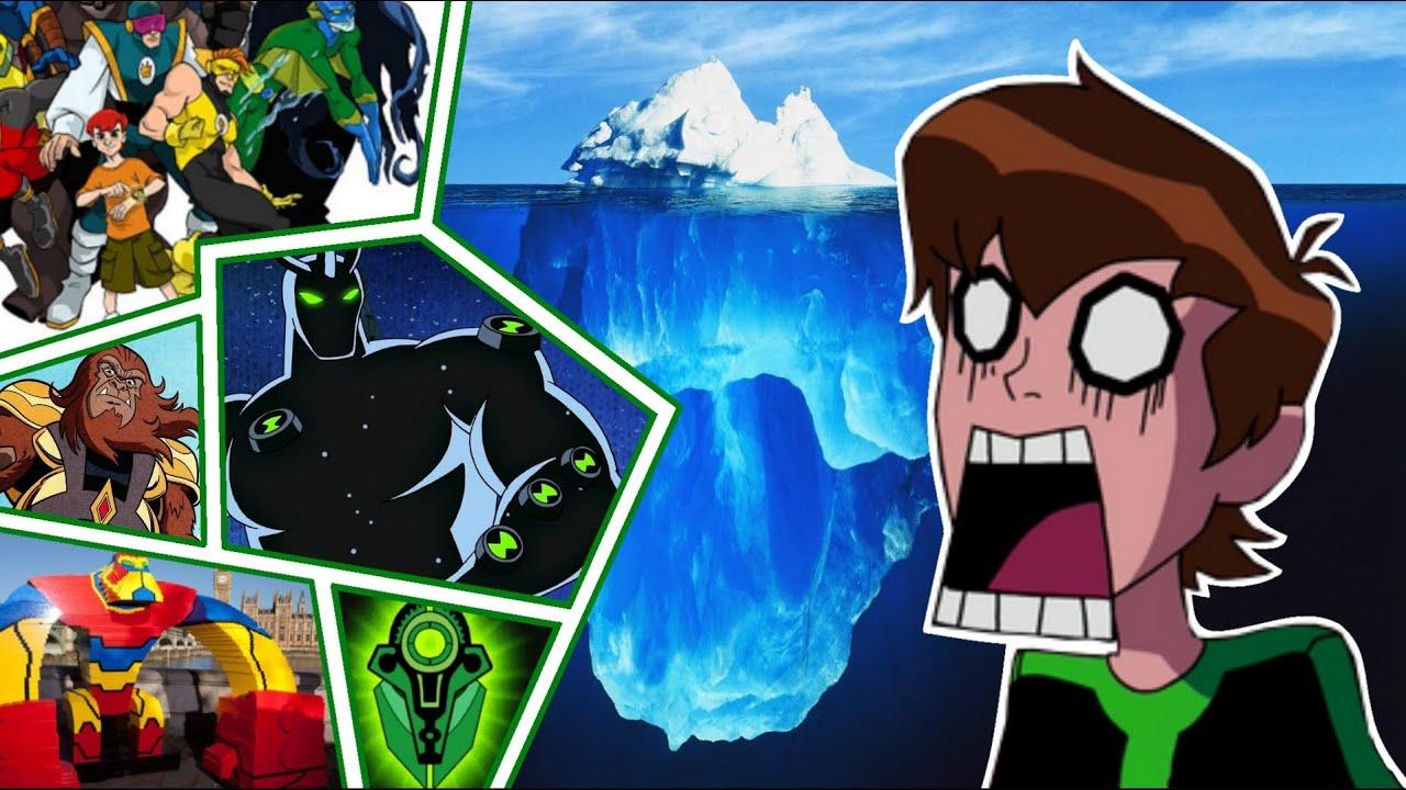 Ben 10 Iceberg: Common to Rare Facts!