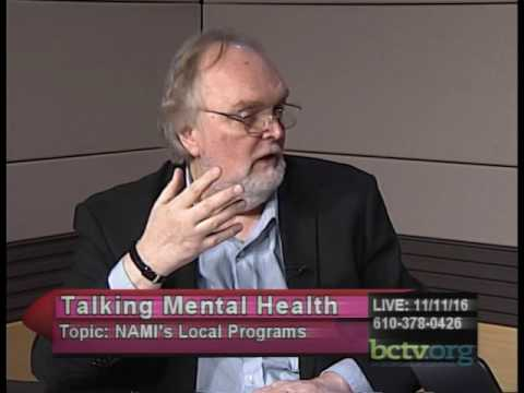 National Alliance on Mental Illness and their local programs. 11-11-16