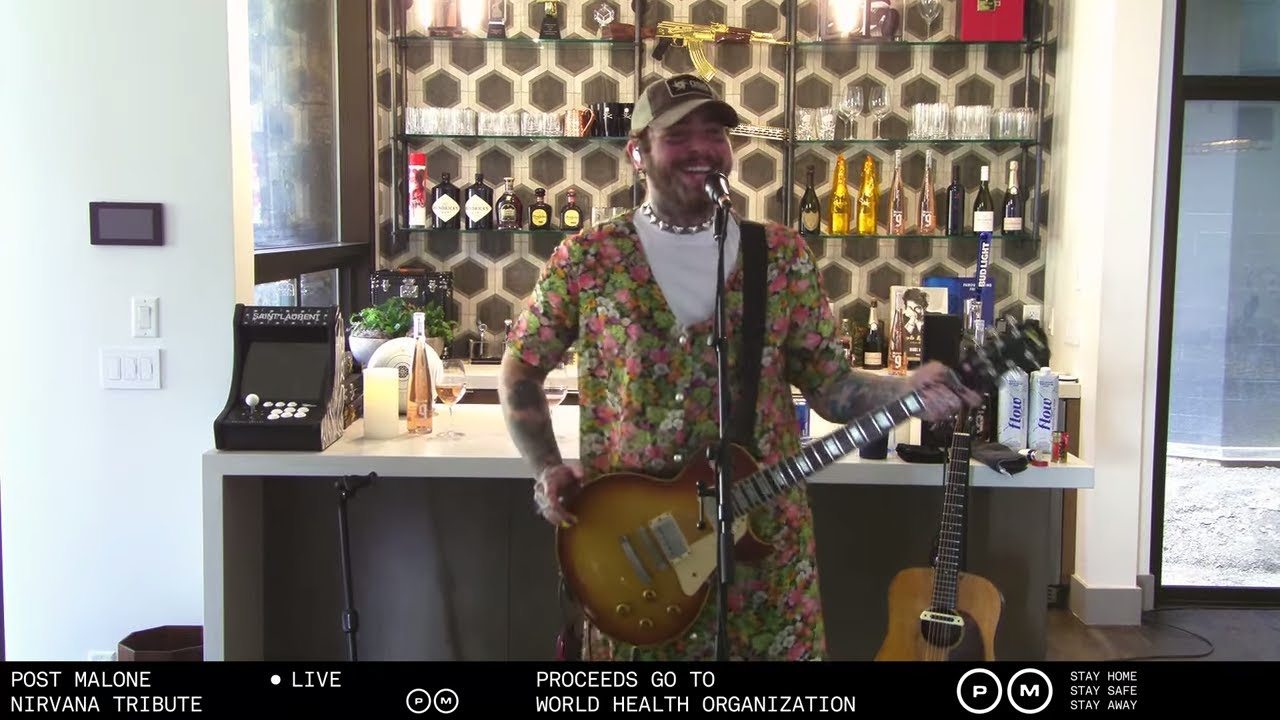 Post Malone x Nirvana Tribute - Livestream