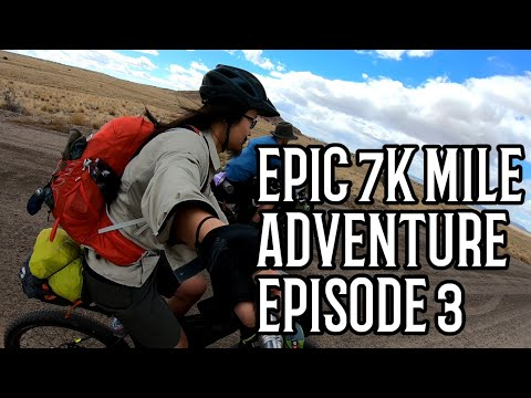 Setbacks and Trouble on the Road! Day 4-6   Ep 3 Bikepacking and Thru-Hiking the Continental Divide