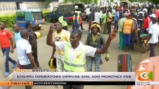 Bodaboda protest in Kisumu