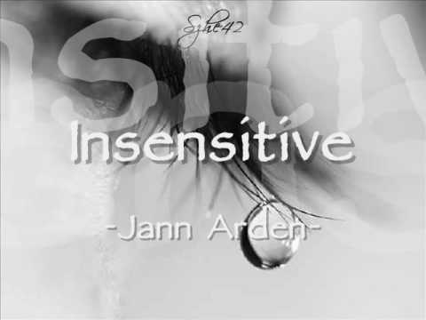 Jann Arden - Insensitive with Lyrics