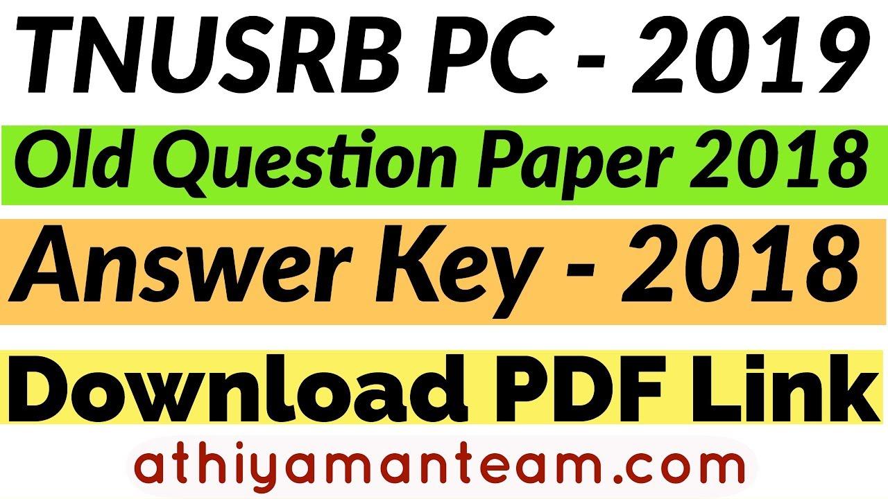 pc 2018 model question paper