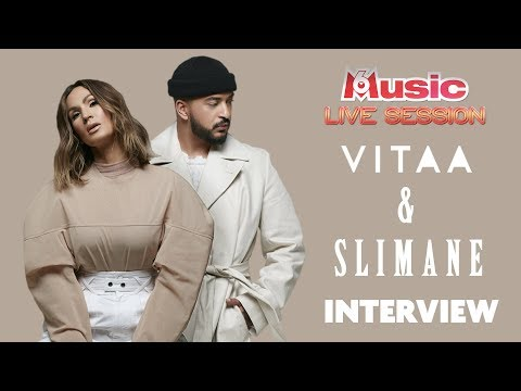 Youtube: L'ITW M6Music Live Session de Vitaa & Slimane