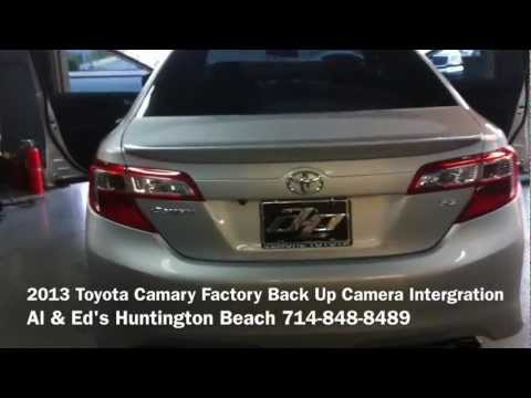 2013 Toyota Camry Back Up Camera Oem Upgrade By Al Amp Ed S