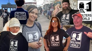 Thank You Fellow Travelers Wearing Wolters World Shirts!!!