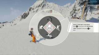 Making snow angels in STEEP pc 1080p