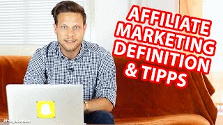 ????AFFILIATE MARKETING???? - Definition und Tipps (feat. Joschka Budach) | #FragDenDan