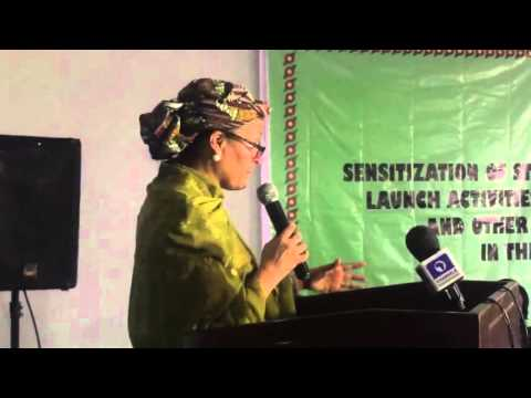 Minister Of Environment, Amina Muhammed Discussing Ogoni Pollution And Efforts To Clean It Up