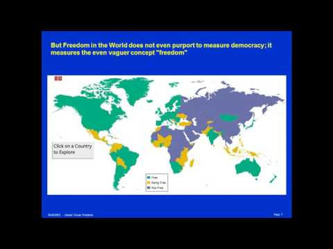 Measuring the Quality of the World's Democracies