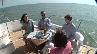 Trawler Summerland 40 Power Catamaran - by Fountaine Pajot