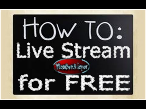 How To Live Stream For FREE W/ Mac OS To Twitch.tv W/ PVR Or Capture Card
