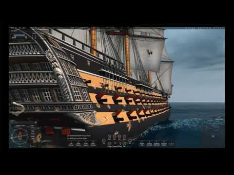 Naval Action - Santisima vs L'Ocean
