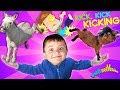 FUNNY GOATS, SAD GOATS, DONKEY KICKS & BAD JOKES (FUNnel Family Vlog)