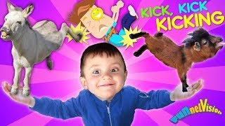 funny-goats-sad-goats-donkey-kicks-bad-jokes-funnel-family-vlog