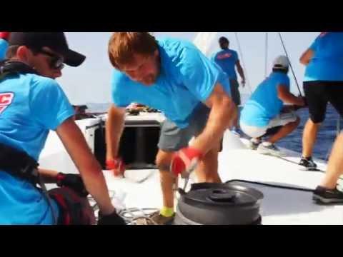 Arctic Energy at Copa del Rey 2015: работа с парусами
