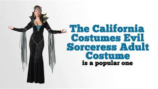 California Costumes Evil Sorceress Adult Costume Review