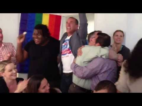 Miami LGBT activists celebrate DOMA decision at SAVE Dade