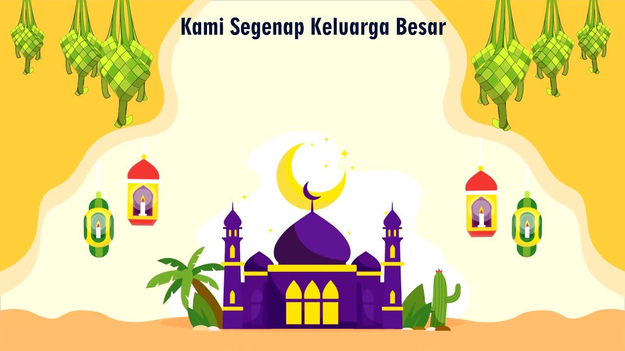 Video Ucapan Selamat Idul Fitri 1440 H Contoh Sample Logo
