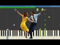 La La Land OST - Engagement Party - Piano Tutorial - Justin Hurwitz video & mp3