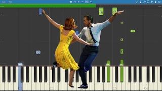 La La Land OST - Engagement Party - Piano Tutorial - Justin Hurwitz