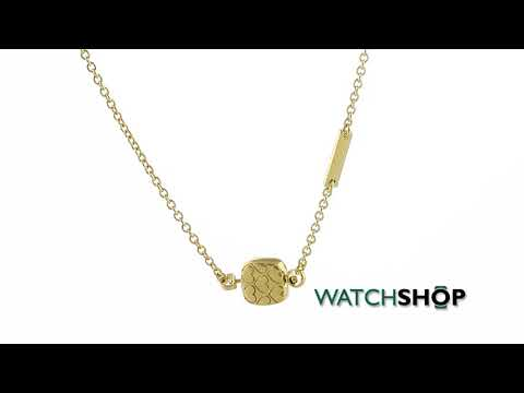 Guess Jewellery Ladies' Gold Plated Cote D Azur Necklace (UBN83134)