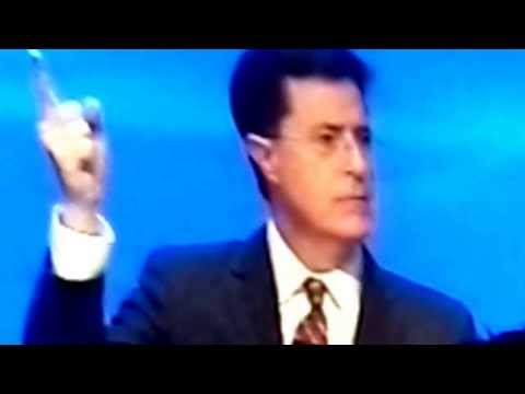 Steven Colbert at RSA Part 1